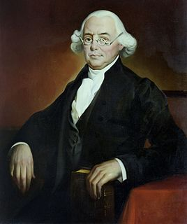 James Wilson one of the Founding Fathers of the United States and a signer of the United States Declaration of Independence