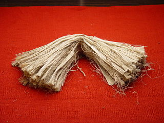 Jute Bast fiber from the genus Corchorus