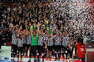 2014–15 Coppa Italia - Image: Juventus Coppa Italia 2015