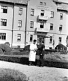 Két férfi, MÁV Nevelőintézet. Fortepan 18453.jpg