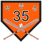 KBO Retired Hanwha 35.svg