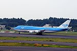 KLM Asia Boeing 747-406(M) (PH-BFY-30455-1302) (20566282355).jpg