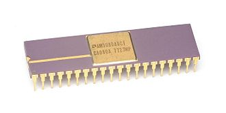 Advanced Micro Devices - Early AMD 9080 Processor (AMD AM9080ADC / C8080A), 1977