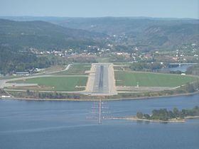image illustrative de l'article Aéroport de Kristiansand Kjevik