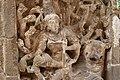 Kailasanatha Temple, dedicated to Shiva, Pallavve period, early 7th century, Kanchipuram (11) (37410438926).jpg