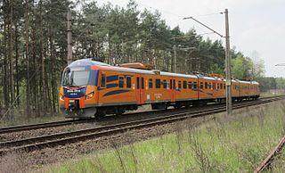 Łódź–Tuplice railway Railway line in Poland