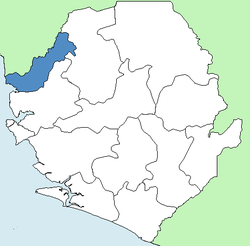 Kambia District Sierra Leone locator.png