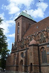 Kamień Pomorski, kościół katedralny p.w. śś. Wojciecha i Jana Chrzciciela.jpg