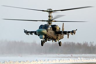 Kamov Ka-50 - Serial Ka-52 at Torzhok Air Base