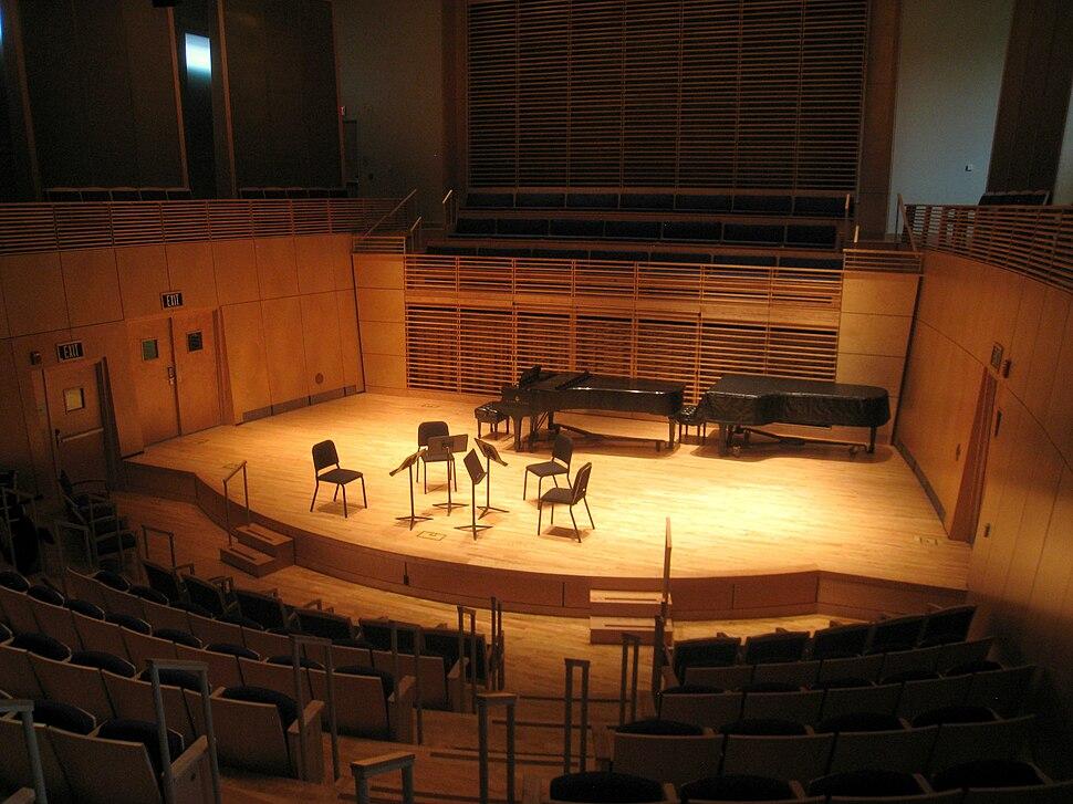 Kanbar Auditorium, Studzinski Recital Hall, Bowdoin College - IMG 9745