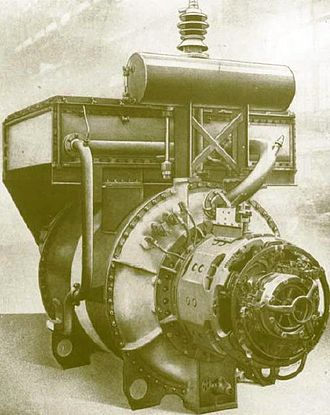 Rotary phase converter - The Kandó phase converter (1933)