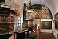 Kansallis museum, sala dell'esposizione medievale.JPG