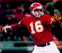 a800852b230 Len Dawson led the Chiefs to victory in Super Bowl IV and was inducted into  the Pro Football Hall of Fame in 1987
