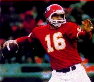 Len Dawson - Dawson pictured later in his career with the Chiefs