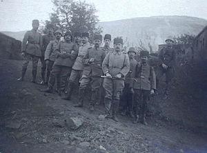 Invasion of Tabriz, World War I - A group of Ottoman forces around Tabriz, 1917.
