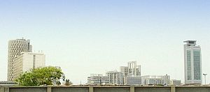 Karachi Chundrigar skyline.jpg