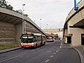 Kartouzská, odklon autobusů, Irisbus Citybus 18M.jpg