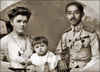 Чула Чакрабон з матір'ю-українкою та батьком