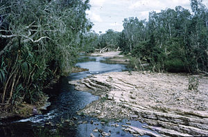 Katherine River - Katherine Low Level View in June 1962