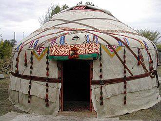 Felt - Kazakh felt yurt
