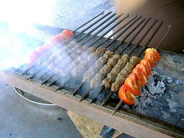 Kebab fatti in Palestina