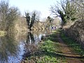 Kennet and Avon Canal west of Aldermaston - geograph.org.uk - 332969.jpg