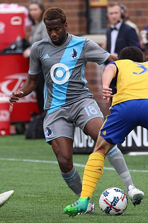 Kevin Molino - Molino with Minnesota United in 2017