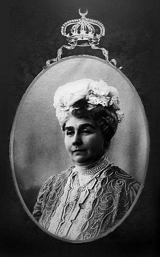 Emina Ilhamy - Amina Naciba Khanum Effendi in her old age