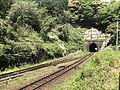 Kidoyama Tunnel on north side of Niho Station.jpg