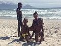 Kids at the beach, Cape Town.jpg