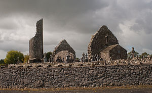 Benignus of Armagh - Image: Kilbennan Church and Round Tower 2010 09 16