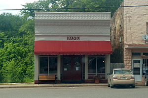 National Register of Historic Places listings in Madison County, Arkansas - Image: Kingston Bank