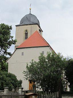 Die Kirche von Gebstedt (Thüringen).