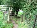 Kissing gate, Heytesbury - geograph.org.uk - 1479067.jpg