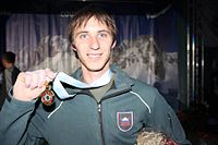 Klemen Bečan at the 2010 Winter Military World Games.jpg
