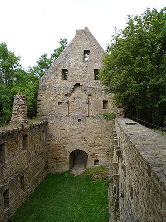 Odernheim am Glan - Disibodenberg Abbey ruin