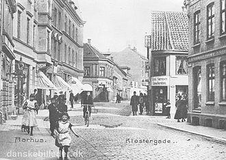Klostergade - Klostergade in 1905