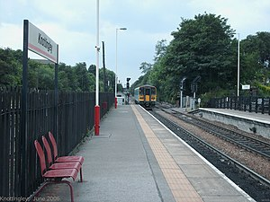 Knottingley railway station -  Platform 1