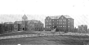Knoxville College - Knoxville College in the early 20th century