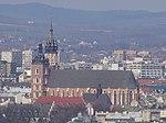 KościółMariacki-WidokZKopcaKraka-POL, Kraków.jpg