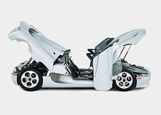 Koenigsegg - The Koenigsegg CC prototype which became the basis for future models of the company