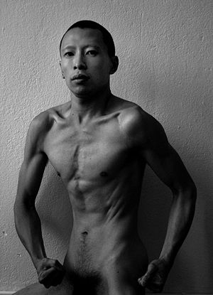 Terence Koh - Koh in a self-portrait