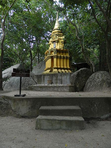 File:Koh Phangan, Thailand-WatKhaoTam.JPG