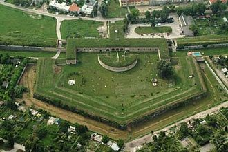 Bastion - A bastion in the Komárno Fortress (Slovakia).