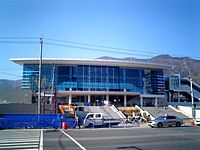 Korail Changwon station building 20101118.jpg