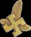 A cruz montesa Suástica dos treze módulos, usada pela 21ª e 22ª Divisões de Infantaria