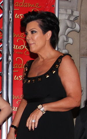 English: Kris Jenner. Original photo by Martyn...