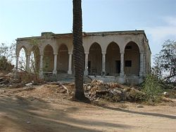 Relic of a house built in Al-Qubayba before 1948