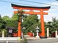 Kugenuma-fushimi-inari shrine's Torii, Fujisawa, Kanagawa.jpg