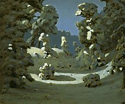 Kuindzhi Sunlight on the hoar frost 1876 1890.jpg